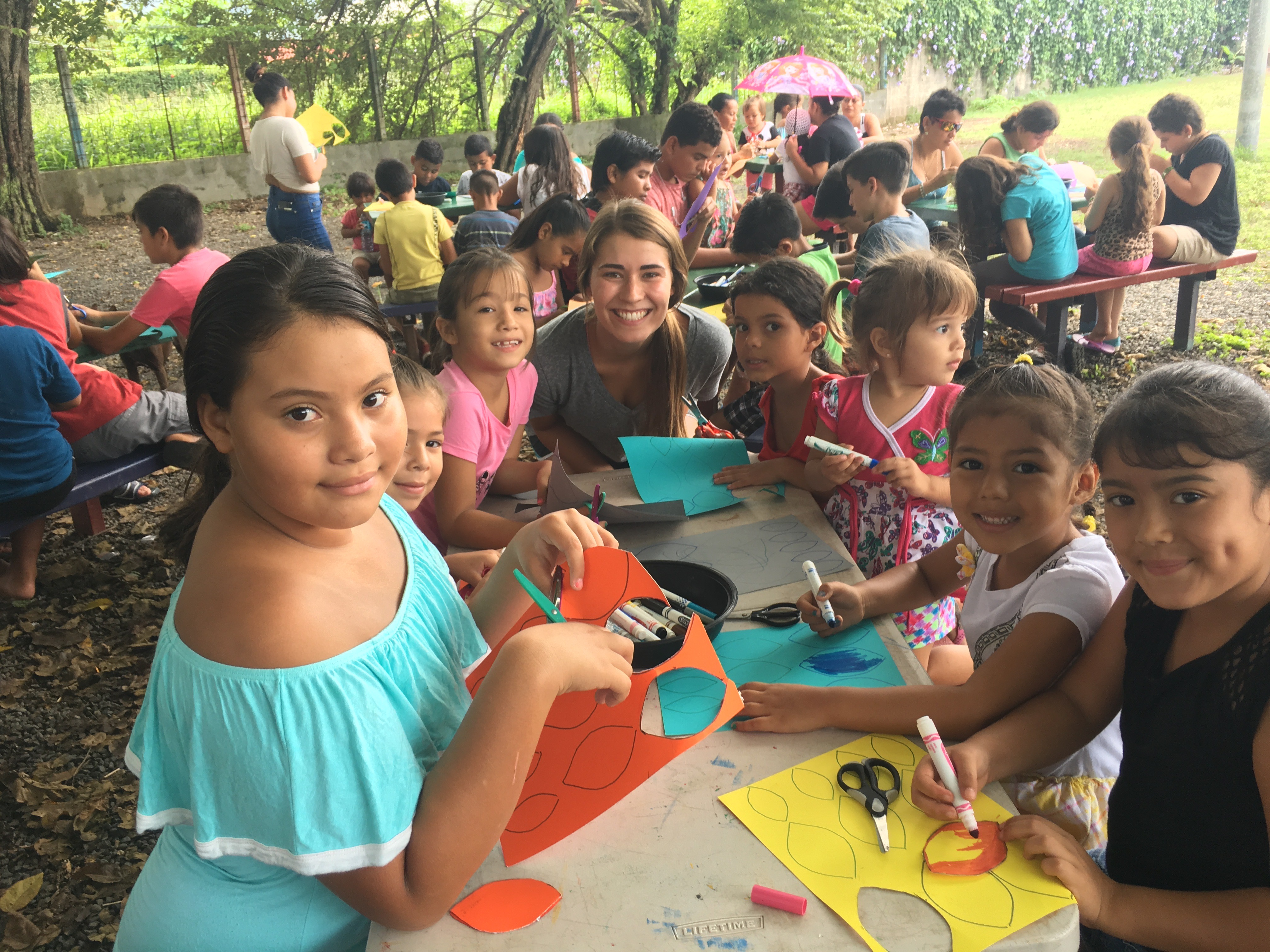 capturing hearts, kids club, jaco beach, costa rica, christian internships, christian lifestyle, mission team, ministry, internships, international living