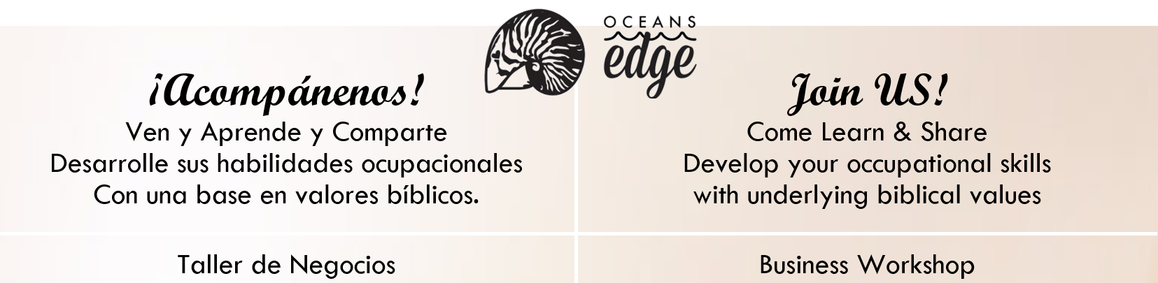 Oceans Edge Jaco beach Taller de negocios business workshop
