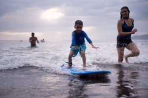 Walking by Surfing with Jair